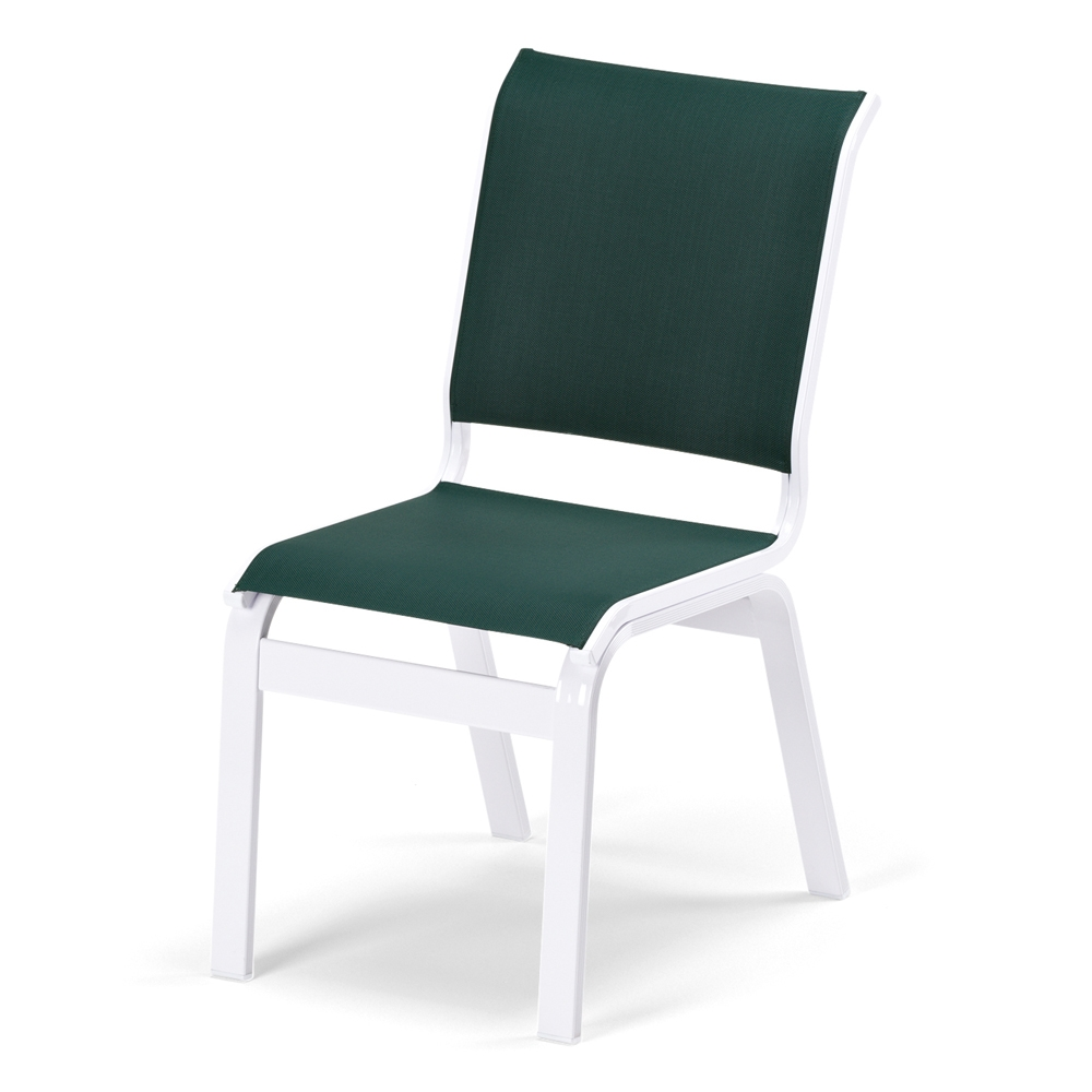 Telescope Casual Fortis Sling Outdoor Armless Dining Chair