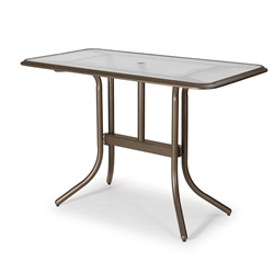 "Telescope Casual 32"" x 60"" Rectangular Bar Table - 5880-5800LEG"