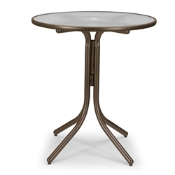 "Telescope Casual 36"" Round Bar Height Table - 5960-4W50LEG"