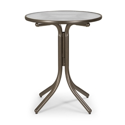 "Telescope Casual 30"" Round Balcony Height Table - 5980-3W20LEG"