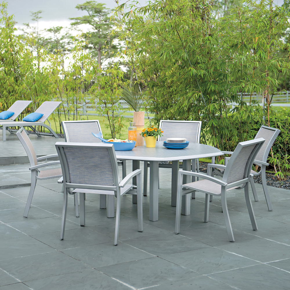 Telescope Casual Kendall Sling 7piece dining set