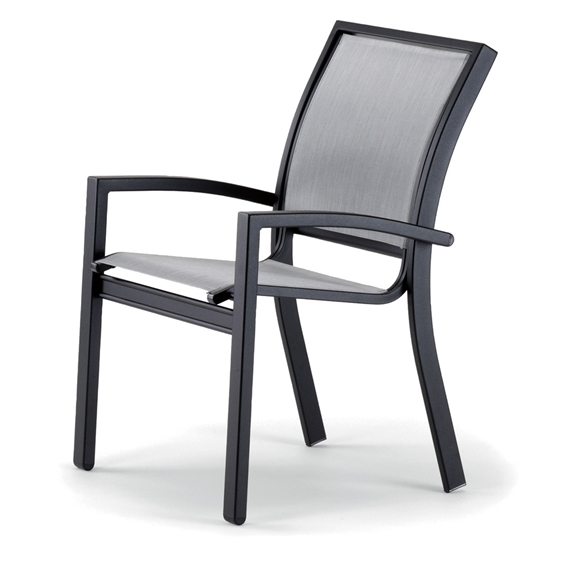 Telescope Casual Kendall Sling Stacking Outdoor Dining Chair - Telescope Casual Kendall Sling Stacking Cafe Chair 9K10