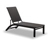 Telescope Casual Kendall Wicker Lay-Flat Stacking Armless Chaise - 9W00
