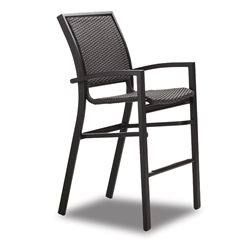 Telescope Casual Kendall Wicker Bar Height Stacking Cafe Chair - 9W90