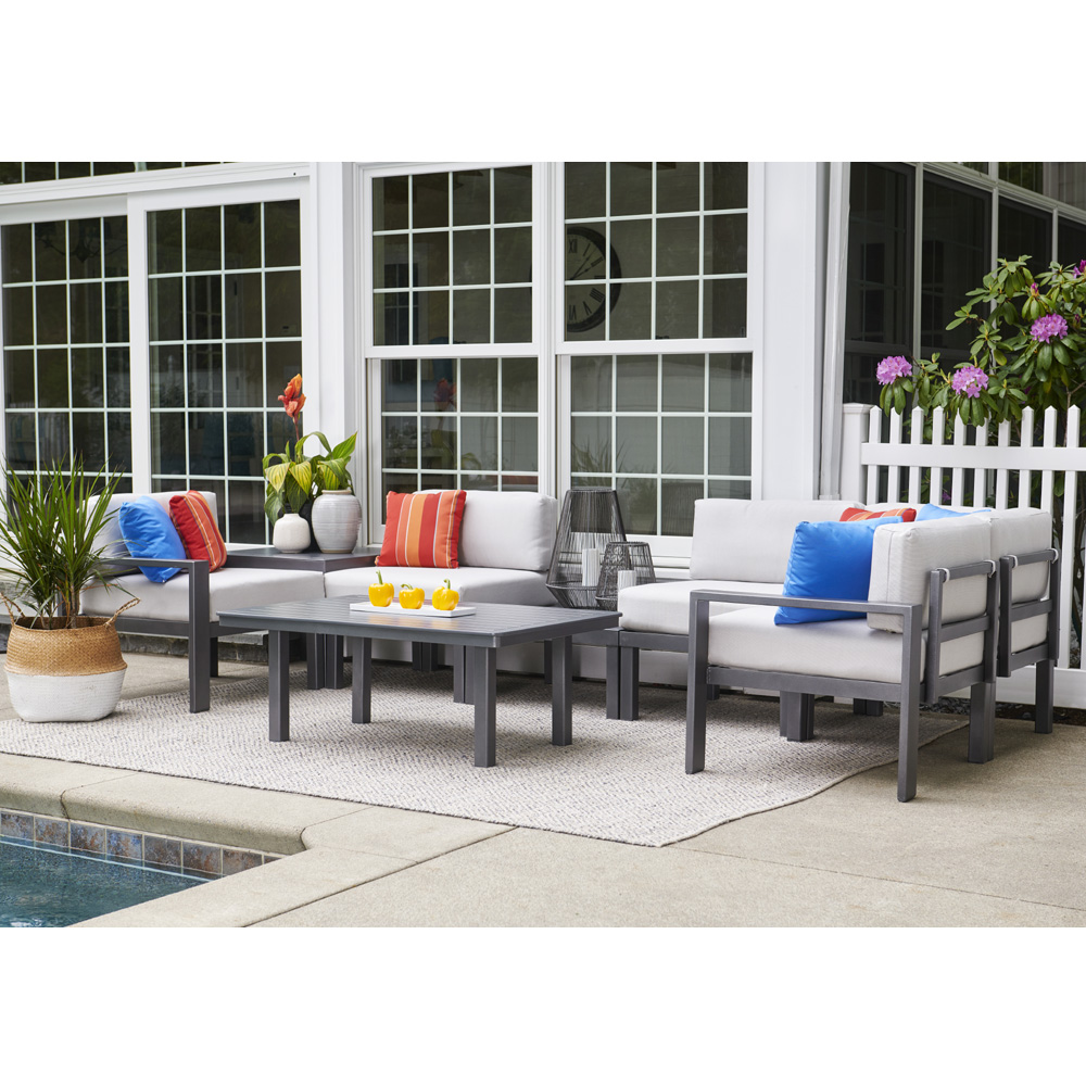 Telescope Casual Larssen Cushion Swivel Rocker Lounge Chair Set - TC-LARSSEN-SET3