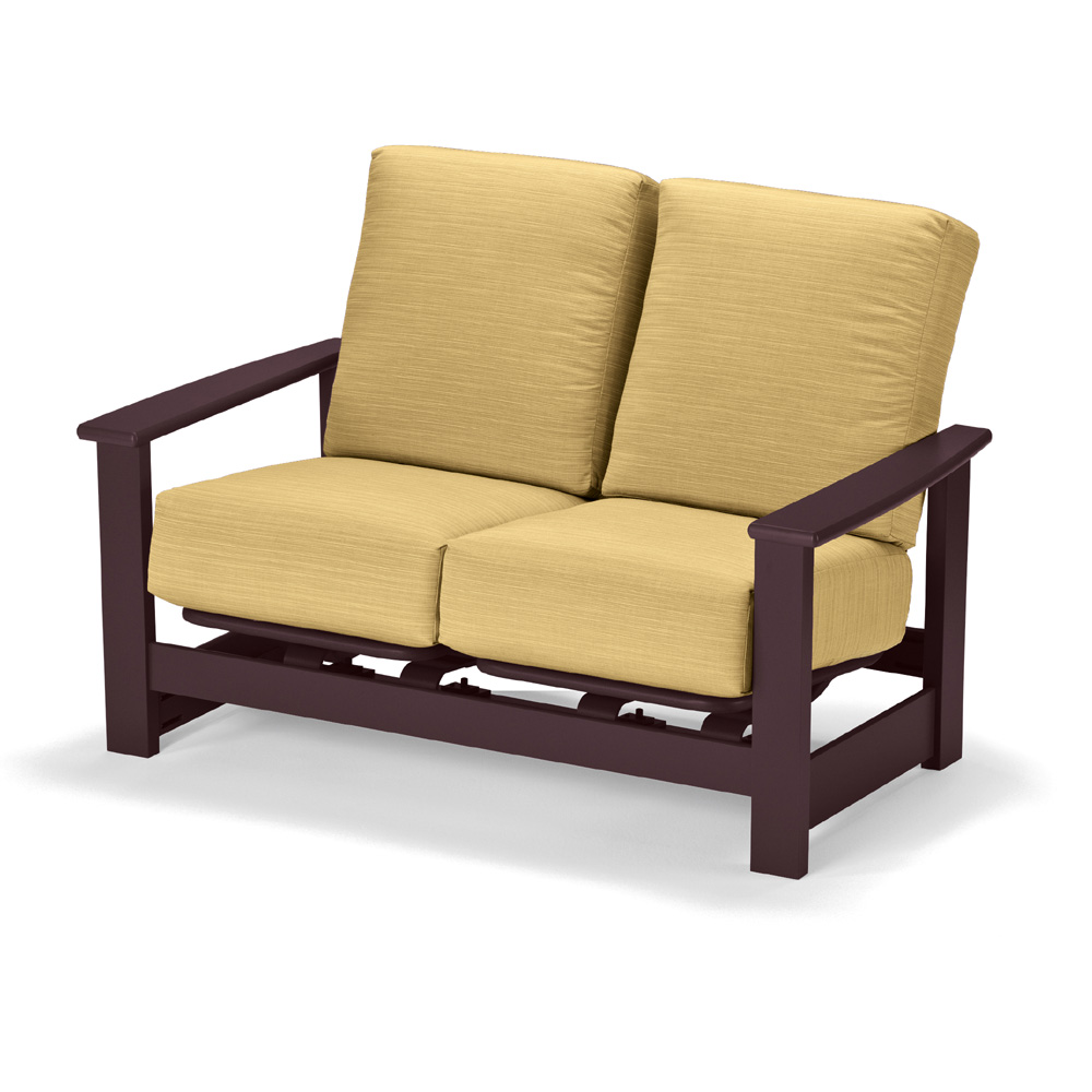 loveseat r hampton with bay all wicker weather lv cushion p furniture patio loveseats outdoor chili woodbury