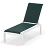 Telescope Casual Leeward Sling Stackable Armless Chaise