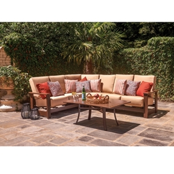 Telescope Casual Leeward Cushion MGP Outdoor Sectional Sofa - TC-LEEWARD-SET13