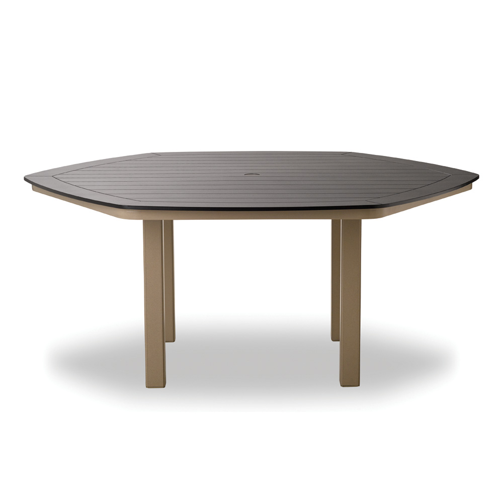 "Telescope Casual Marine Grade Polymer 62"" Hexagonal Dining Table - TM00-2M00LEG"