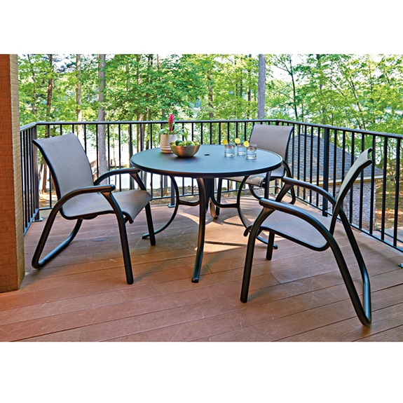 Telescope Casual Ma Sling Patio Dining Set Tc Set1