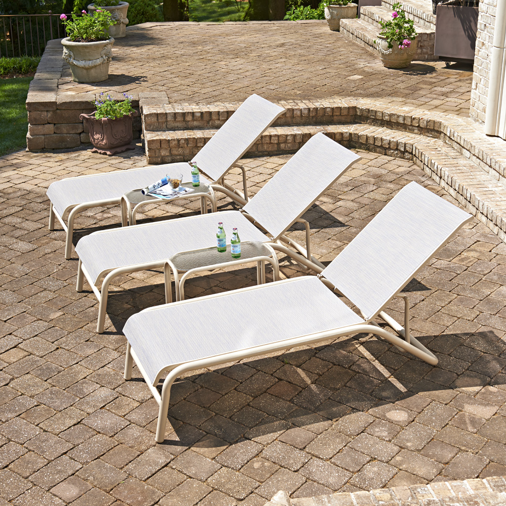 Telescope Casual Maxx Sling Adjustable Chaise Lounge Set - TC-MAXX-SET2