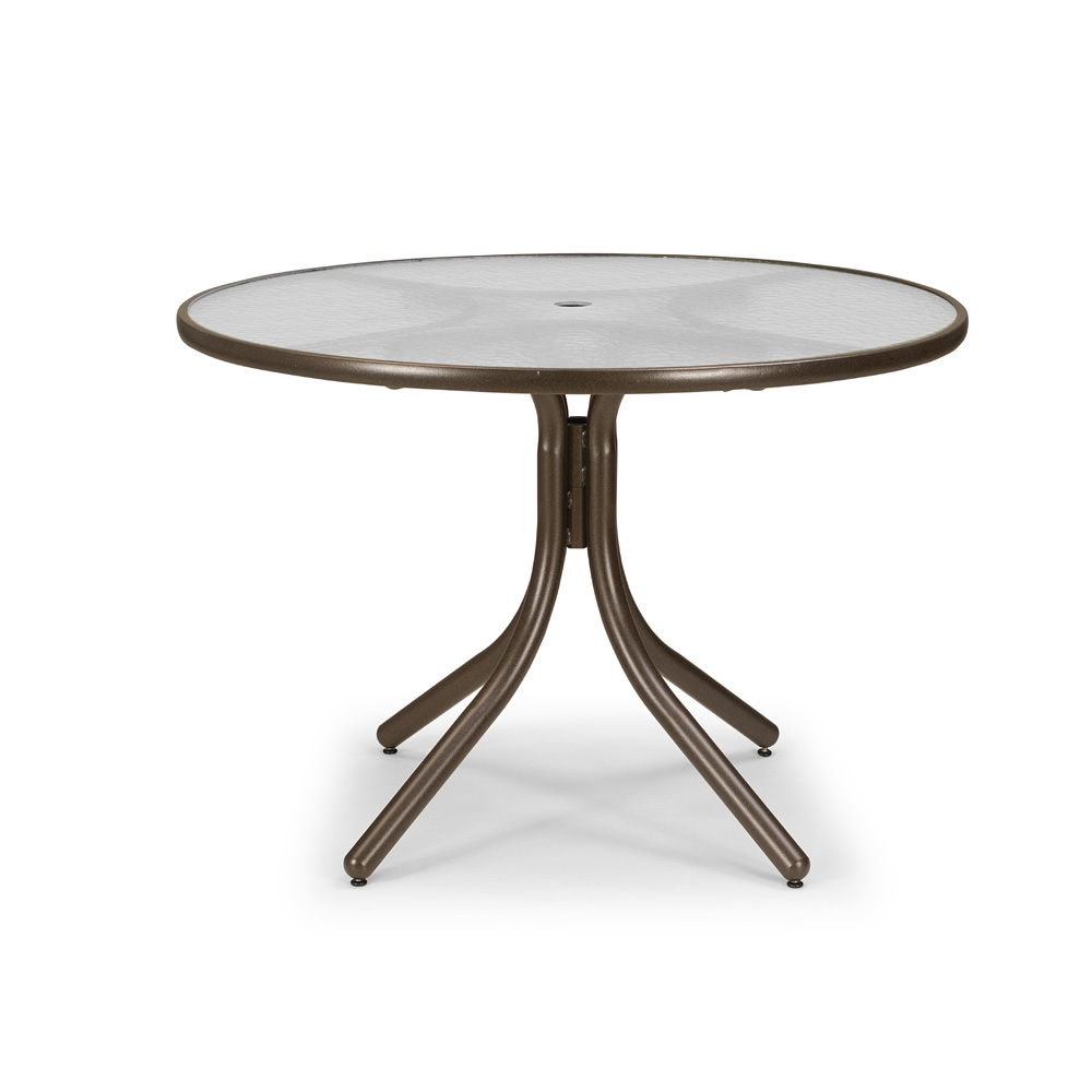 Telescope Casual 42 Quot Obscure Acrylic Round Dining Table