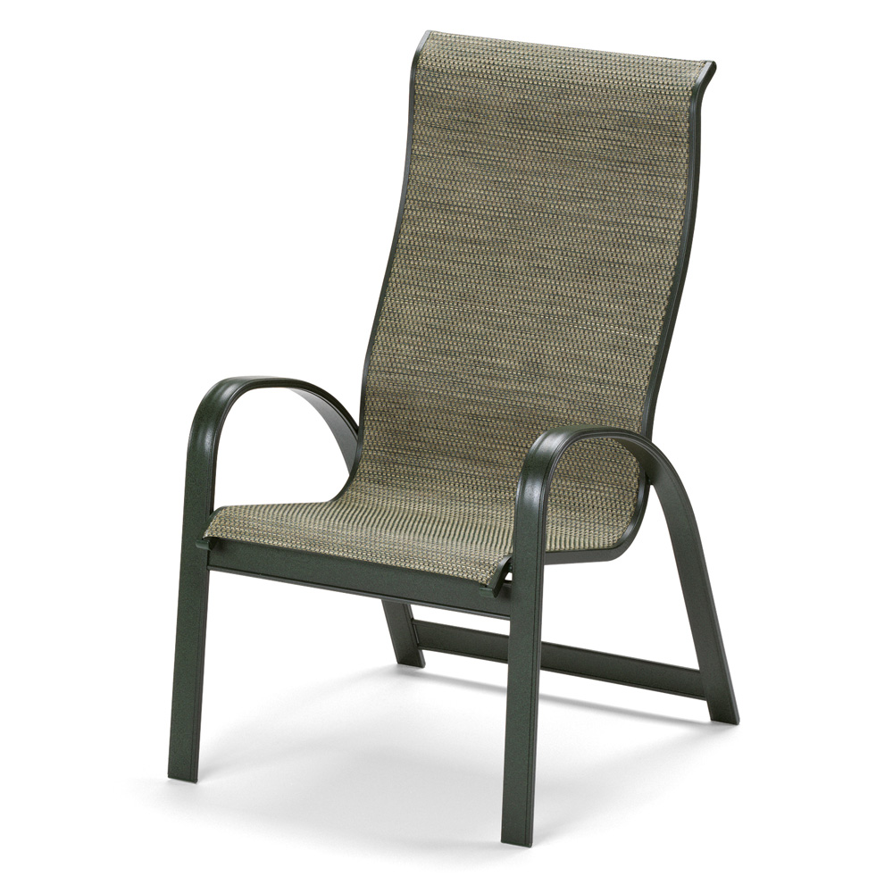 Telescope Casual Primera Sling High Back Stacking Outdoor Chair