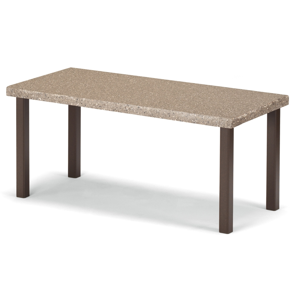 Telescope Casual Synthestone Rectangular Coffee Table 5n50