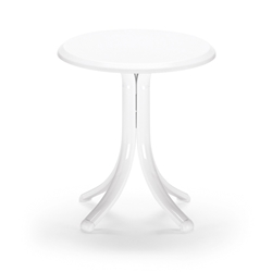 "18"" Round Werzalit Top End Table"