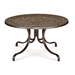 "48"" Round Cast top Dining Table"