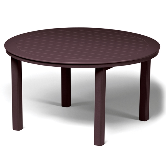 Telescope casual 54 round mgp top dining table t020 3850leg for Table 52 botswana