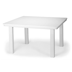 "Telescope Casual 42"" Square Conversation Table with MGP Top"