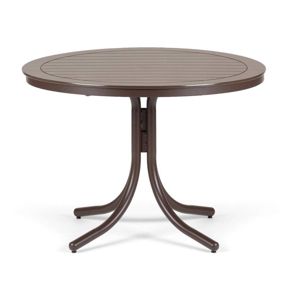 Telescope Casual Round Dining Table   42. Telescope Casual 42  Round MGP Top Dining Table   T120 2W50LEG