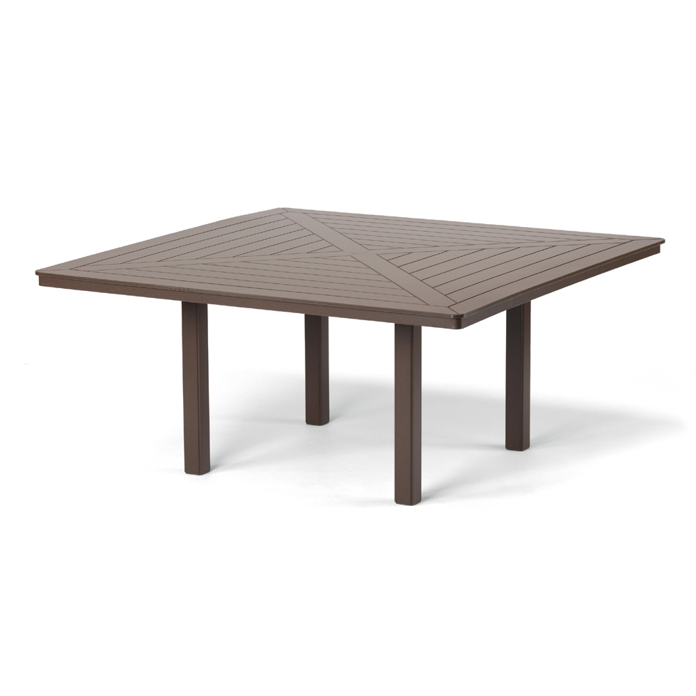 telescope casual  square mgp top dining table  tleg - telescope casual big square mgp outdoor table