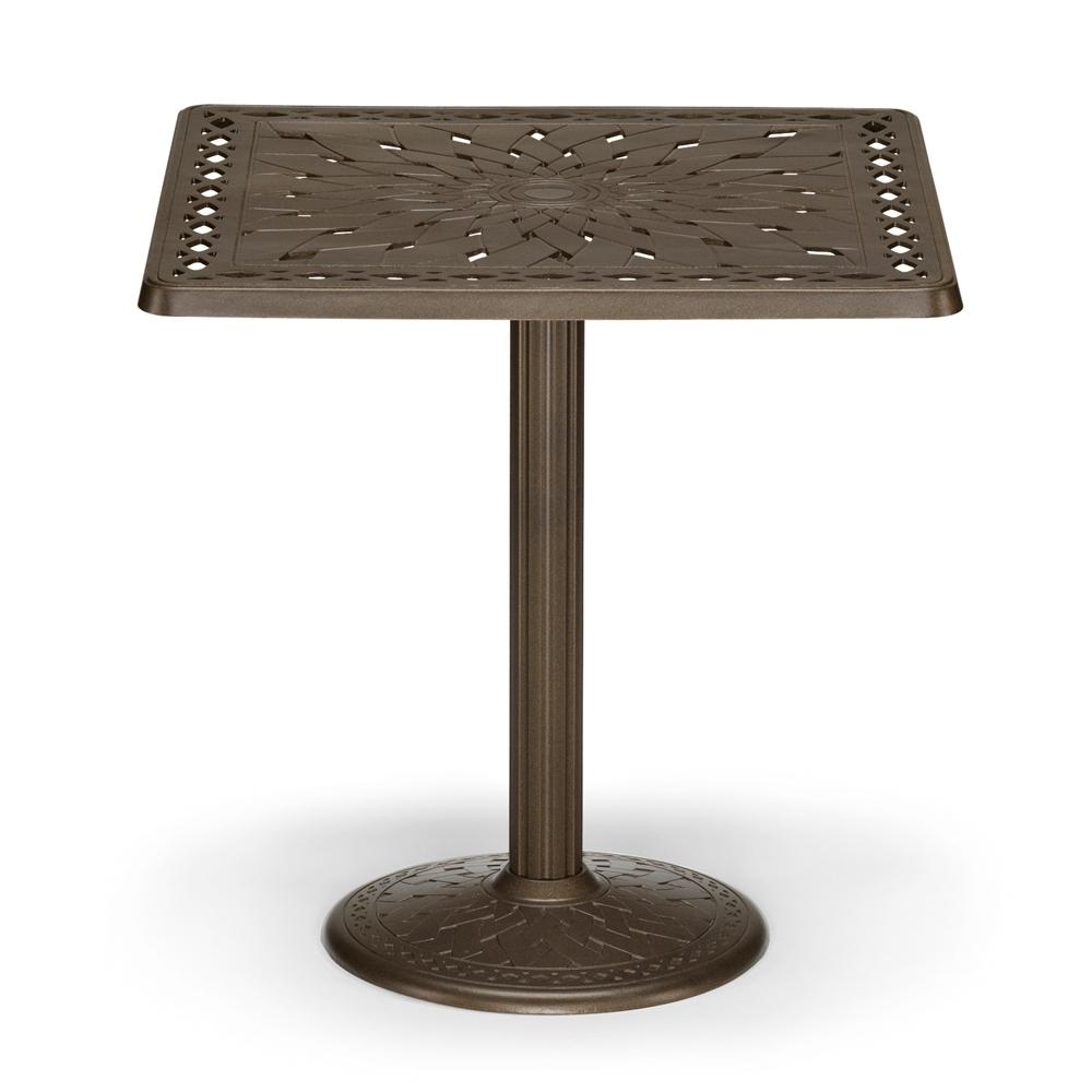 Counter Height Pedestal Base : ... counter furniture outdoor counter tables telescope casual counter