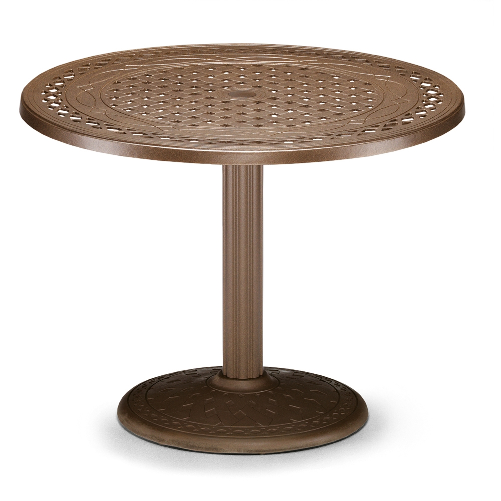 Telescope Casual 36quot Round Cast Top Dining Table w  : t560 3560bas from www.usaoutdoorfurniture.com size 1000 x 1000 jpeg 329kB