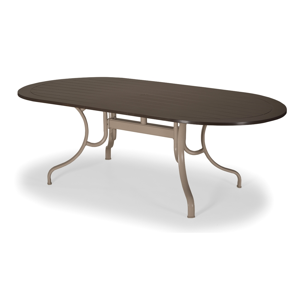 Telescope Casual Round MGP Top Dining Table TLEG - Beachwood dining table