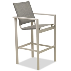 Telescope Casual Tribeca Sling Bar Height Cafe Chair - 1T90