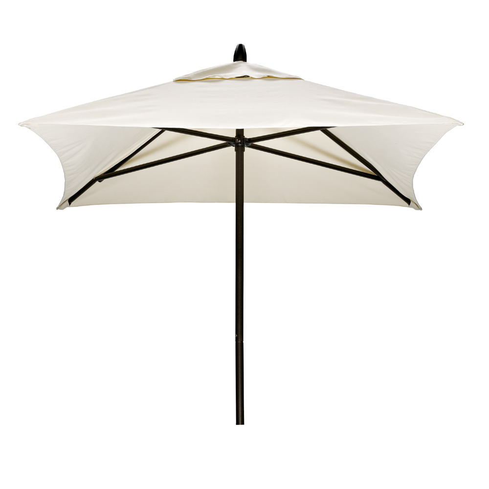 Telescope Casual Square Commercial Market Umbrella - Commercial table umbrellas