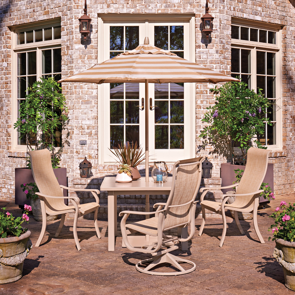 Telescope Casual Villa Sling Dining Set for 4 - TC-VILLA-SET9