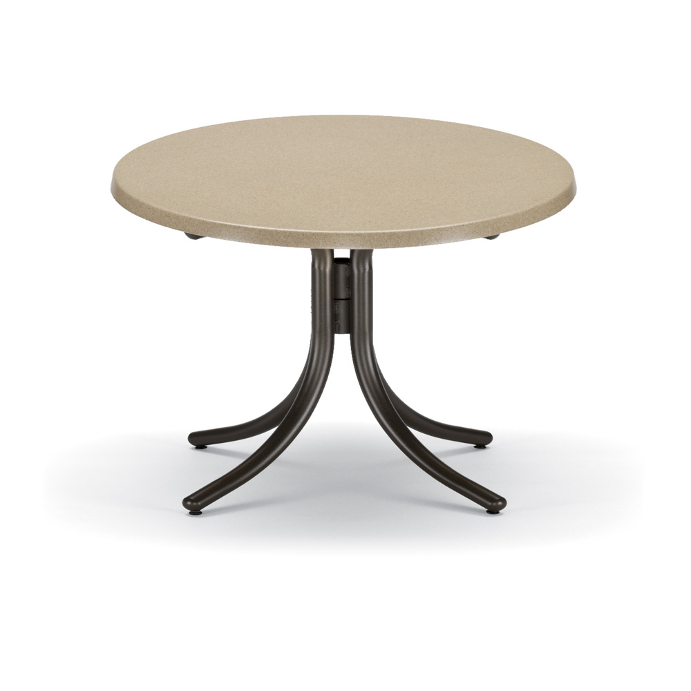 Telescope Casual 30 Quot Round Chat Height Werzalit Top Table