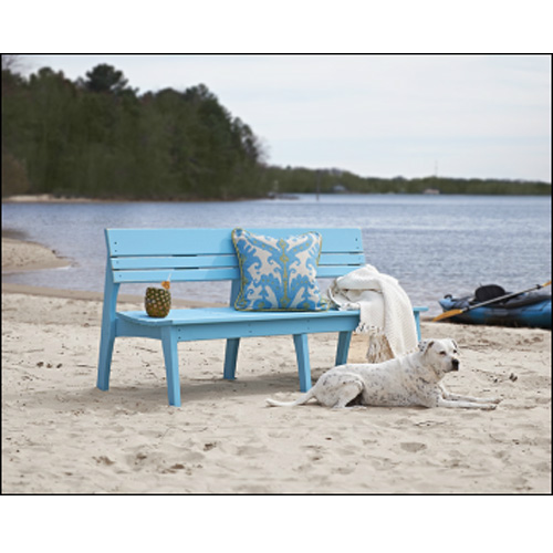 Uwharrie Chair Behrenu0027s Three Seat Bench With Back   ...
