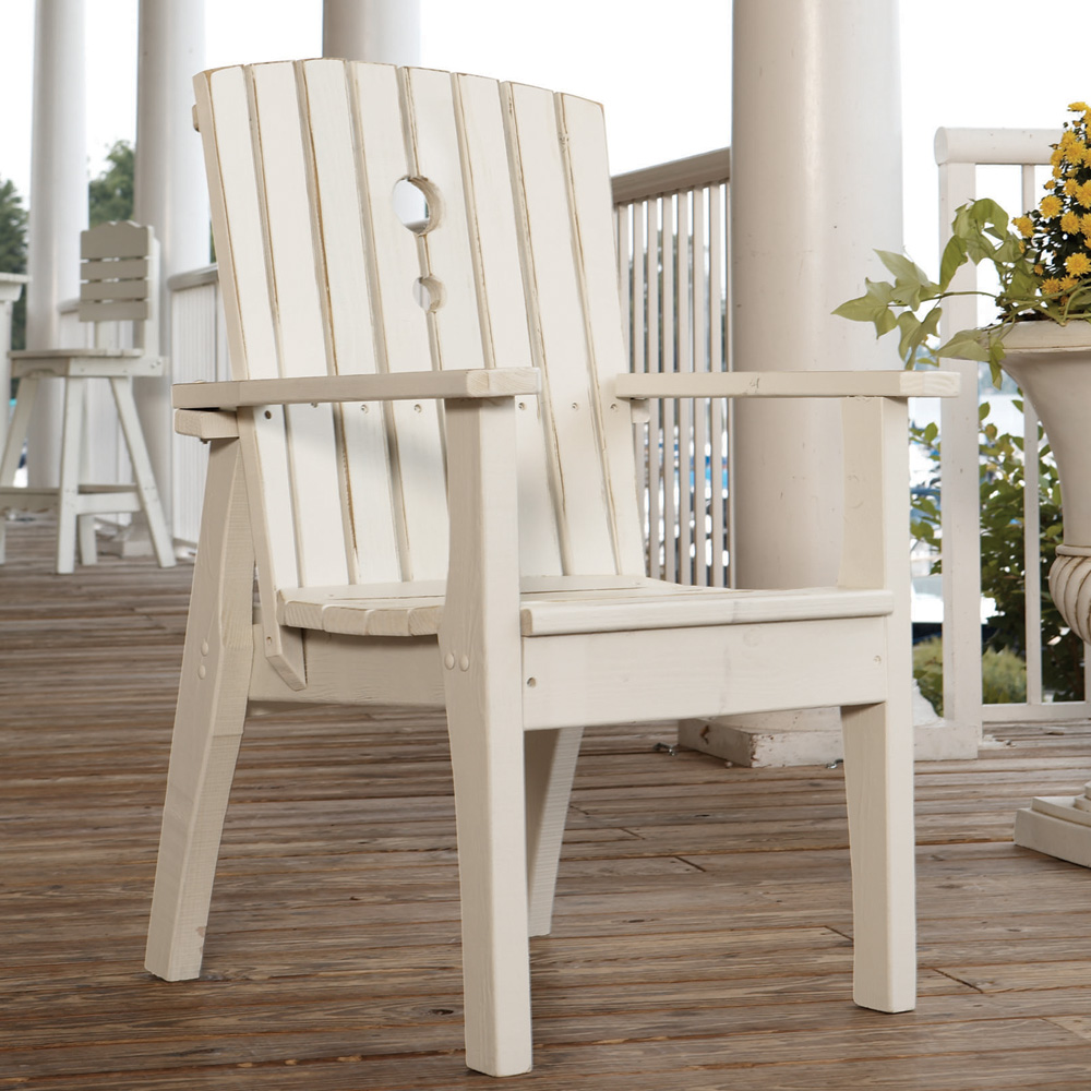 Uwharrie Chair Behrenu0027s Dining Chair With Arms   B075