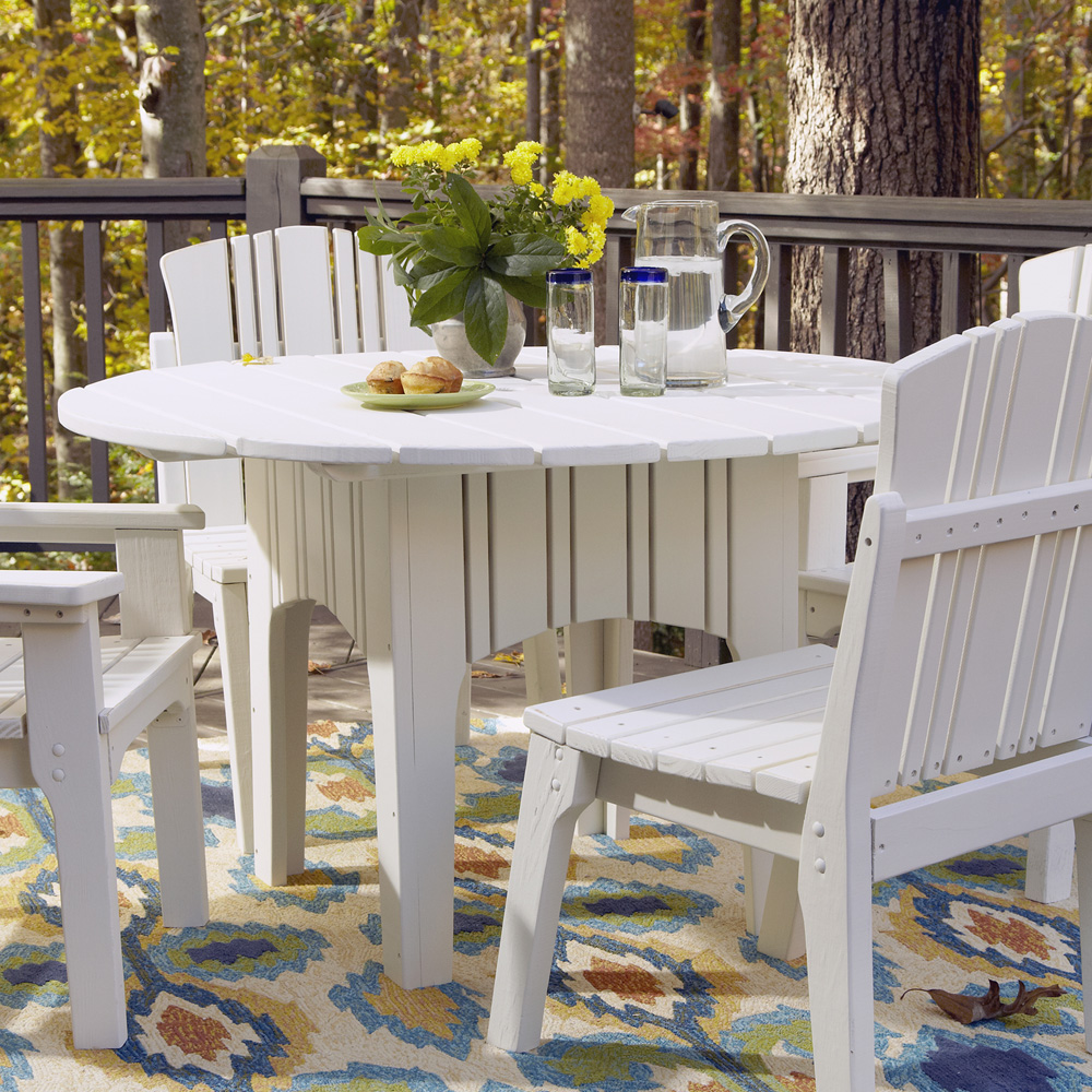 Uwharrie Chair Carolina Preserves 48 Inch Round Dining Table - C094