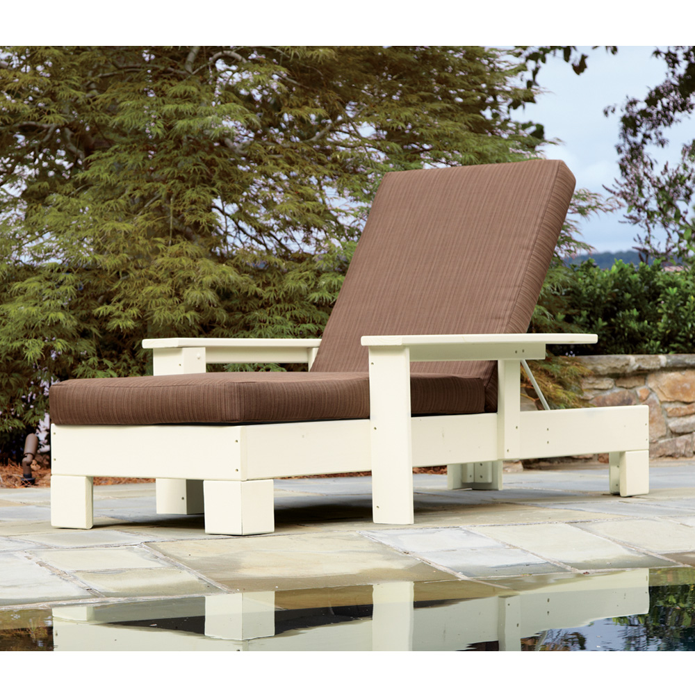 Uwharrie Chair Chat Adjustable Chaise Lounge  - 9082