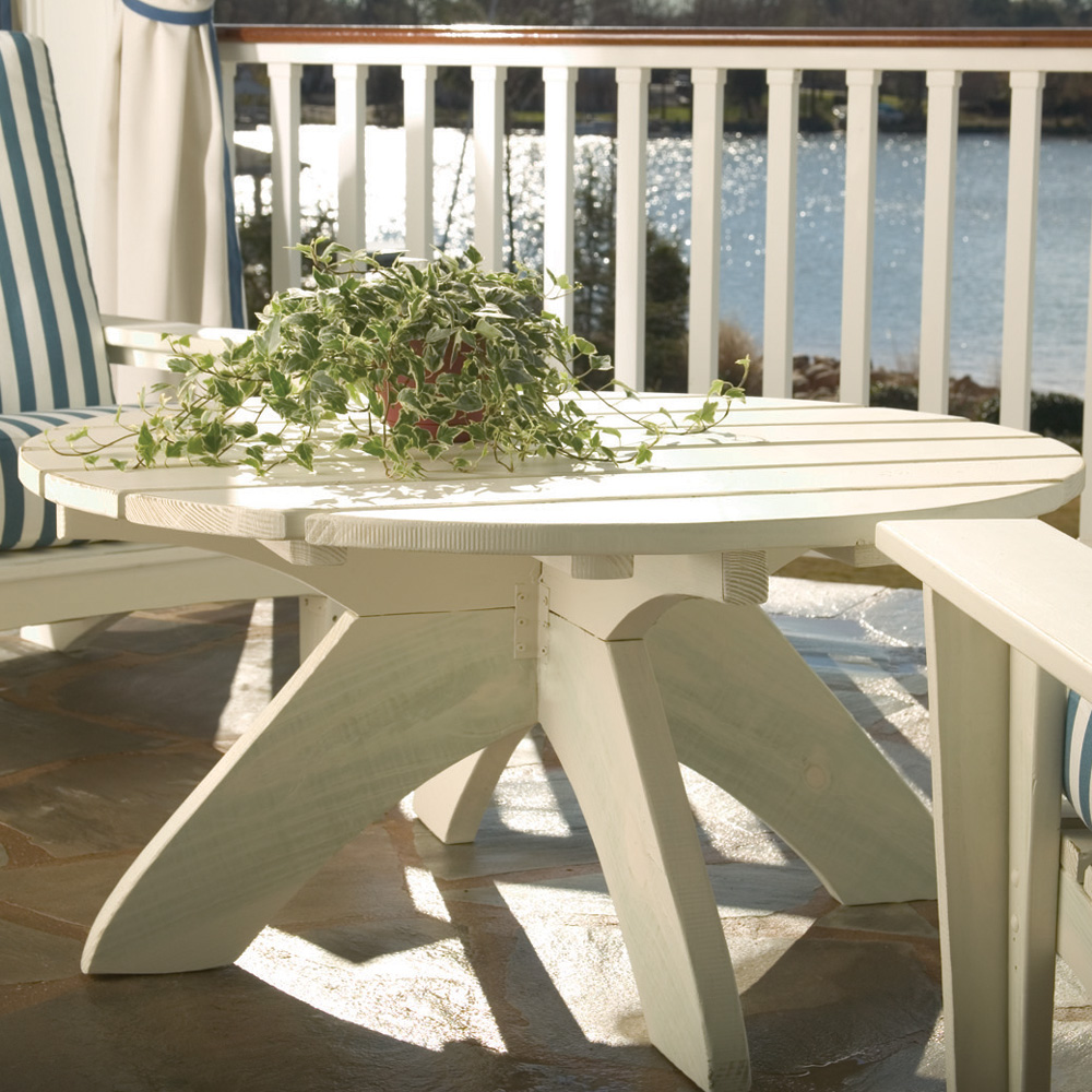 Uwharrie Chair Chat 42 Inch Round Conversation Table - 9092