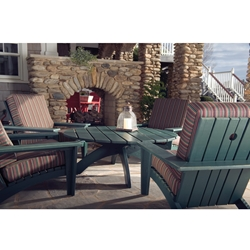Uwharrie Chair Chat Patio Lounge Chair Set for 4 - UW-CHAT-SET2