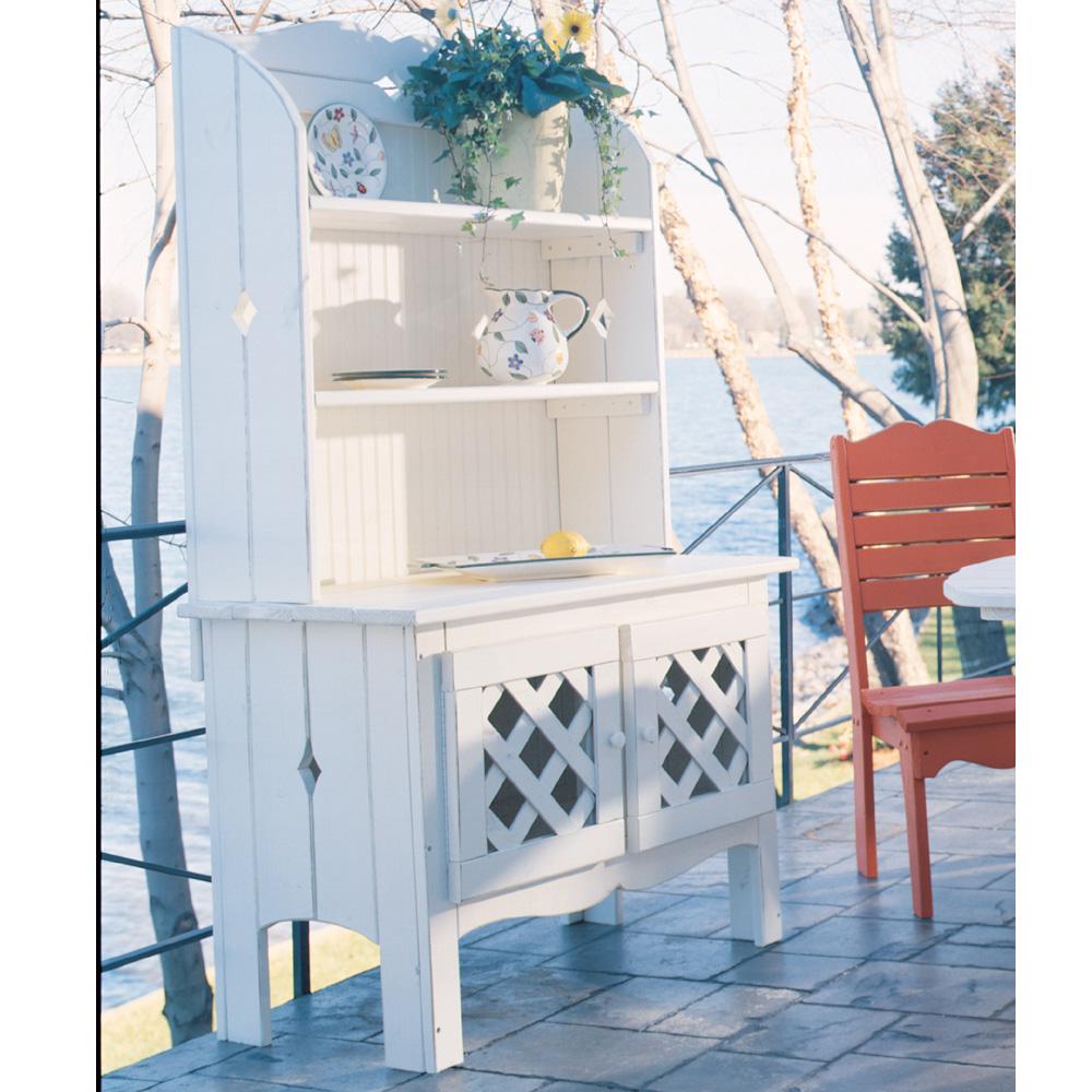 Uwharrie Chair Companion Outdoor Hutch   5051 ...