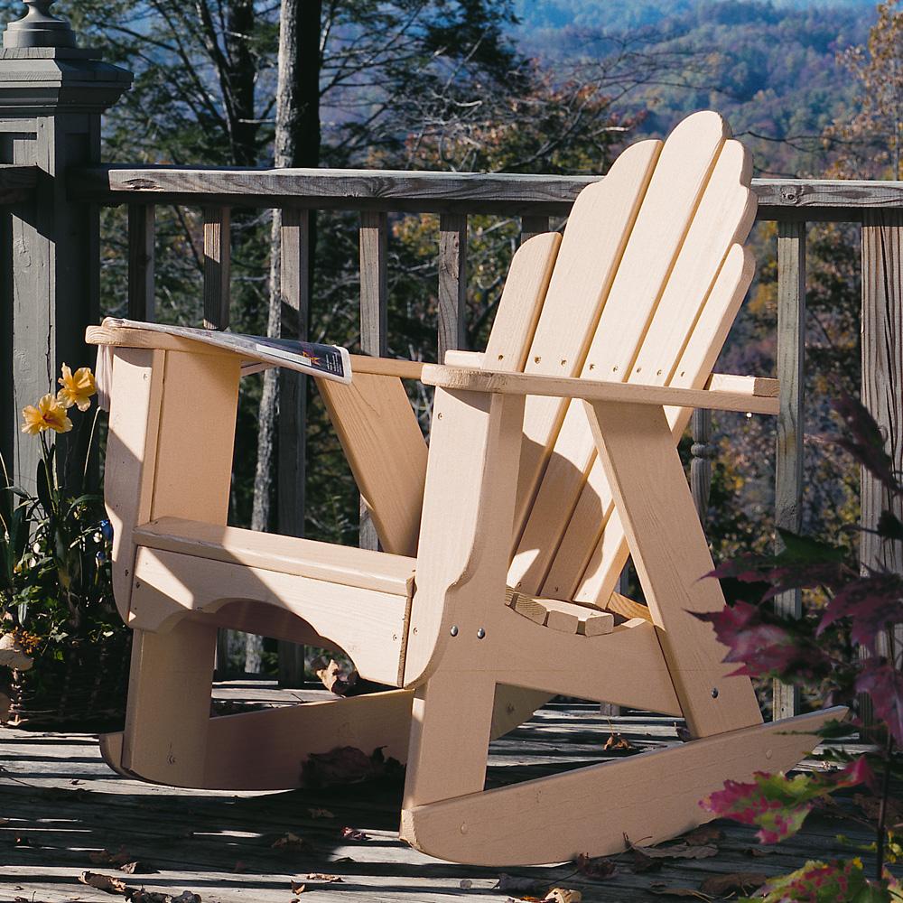 Uwharrie Chair Fanback Rocker   4012