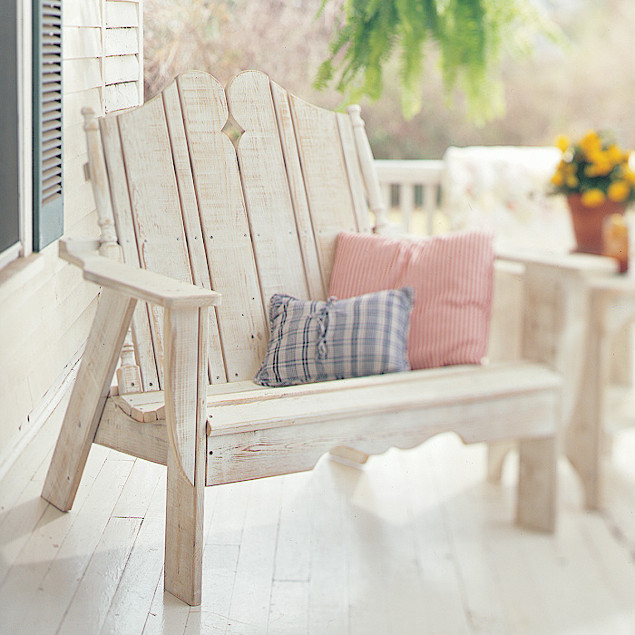 Uwharrie Chair Nantucket Settee   N151 ...