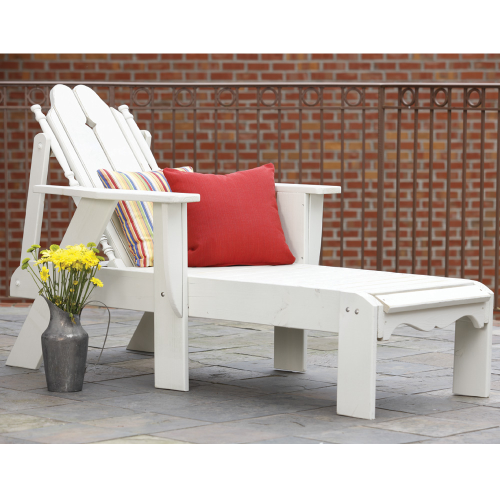 Uwharrie Chair Nantucket Adjustable Chaise Lounge - N182
