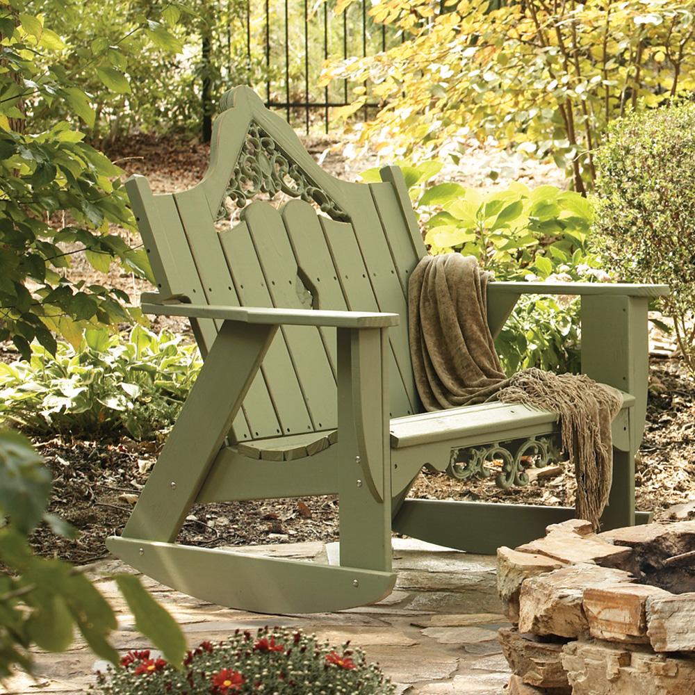 Uwharrie Chair Veranda Settee Rocker   V053 ...