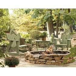 Uwharrie Chair Veranda Rocker Set for 3 - UW-VERANDA-SET1