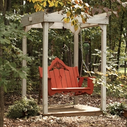 Uwharrie Chair Veranda Swing Set w/ Arbor - UW-VERANDA-SET2