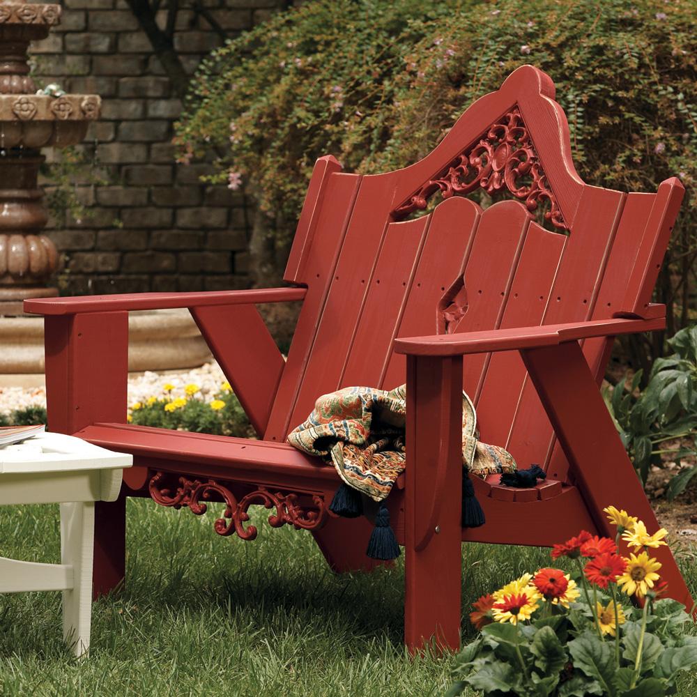 Uwharrie Chair Veranda Settee   V051 ...