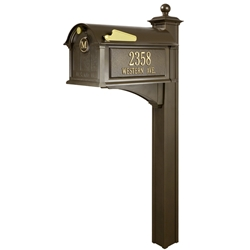 Whitehall Balmoral Mailbox- Streetside Package - 162-36-37-39