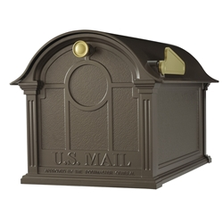 Whitehall Balmoral Mailbox  in Bronze