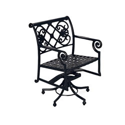 Windham Catalina Swivel Dining Arm Chair - 3016