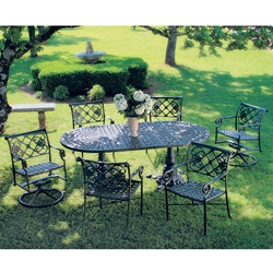 Windham Catalina Cast Aluminum Dining Set for 6 - WN-CATALINA-SET4