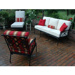 Windham Catalina Cast Aluminum Sofa Set - WN-CATALINA-SET5